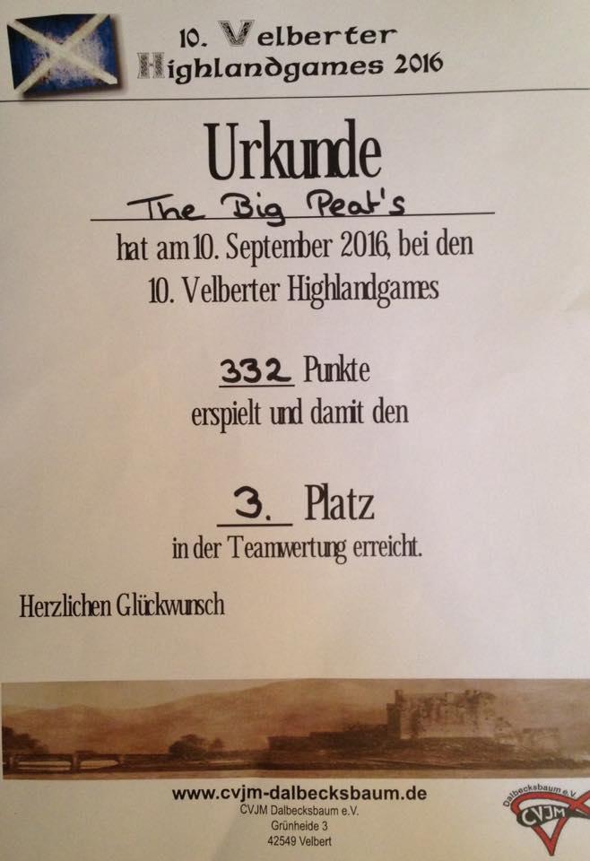 Urkunde HG Velbert 2016
