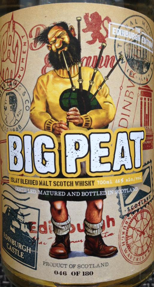 Big Peat The Edinburgh Edition 2016 vorne