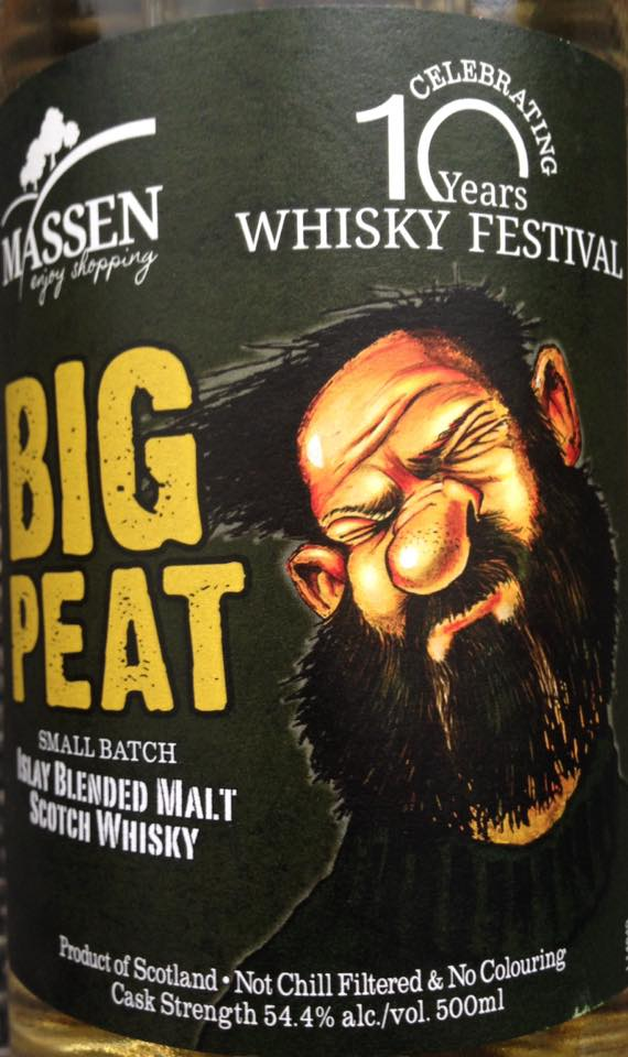 Big Peat for Massen 10 years vorne
