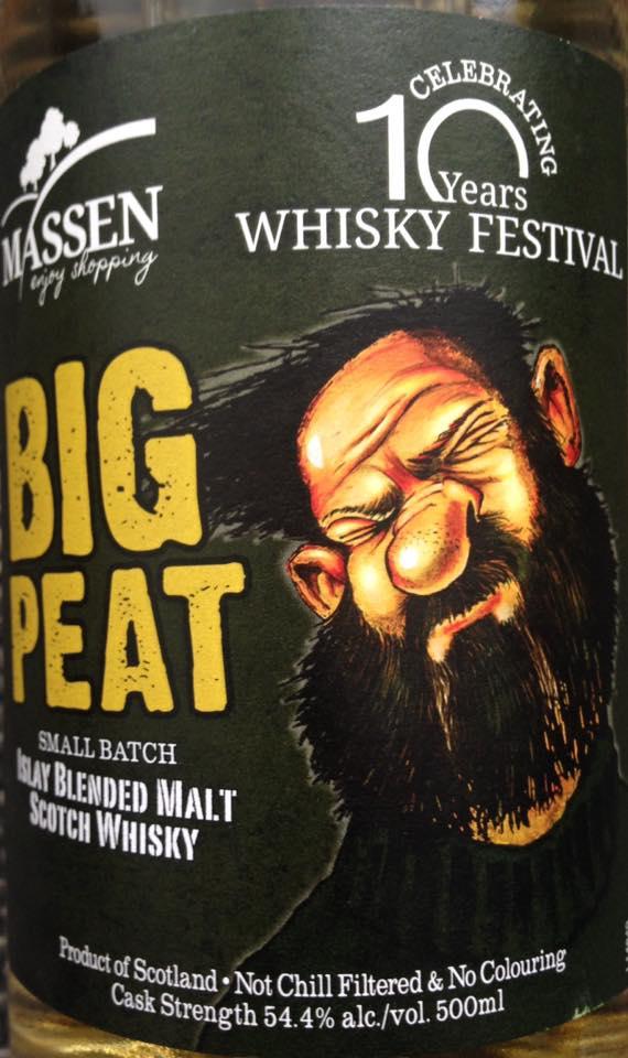 Big Peat for Massen 10 years vorne