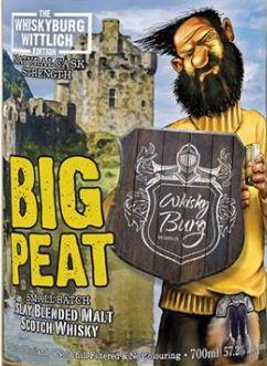 Big Peat Whiskyburg Edition Flasche 2017vorne