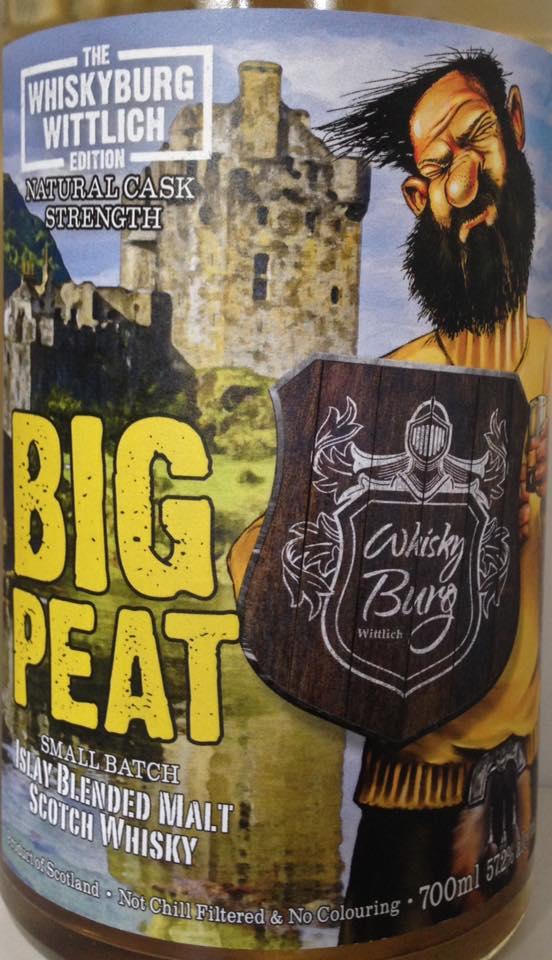 Big Peat Whiskyburg Wittlich Edition 2017 vorne