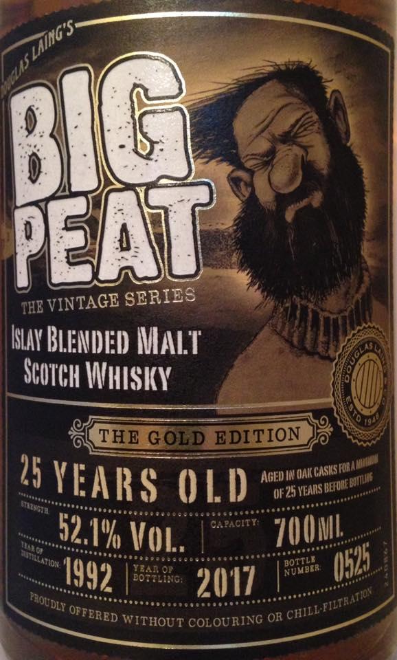Big Peat 25 Jahre 2017 vorne