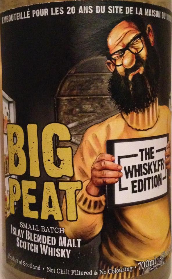 Big Peat Whisky.Fr Edition 2017 vorne