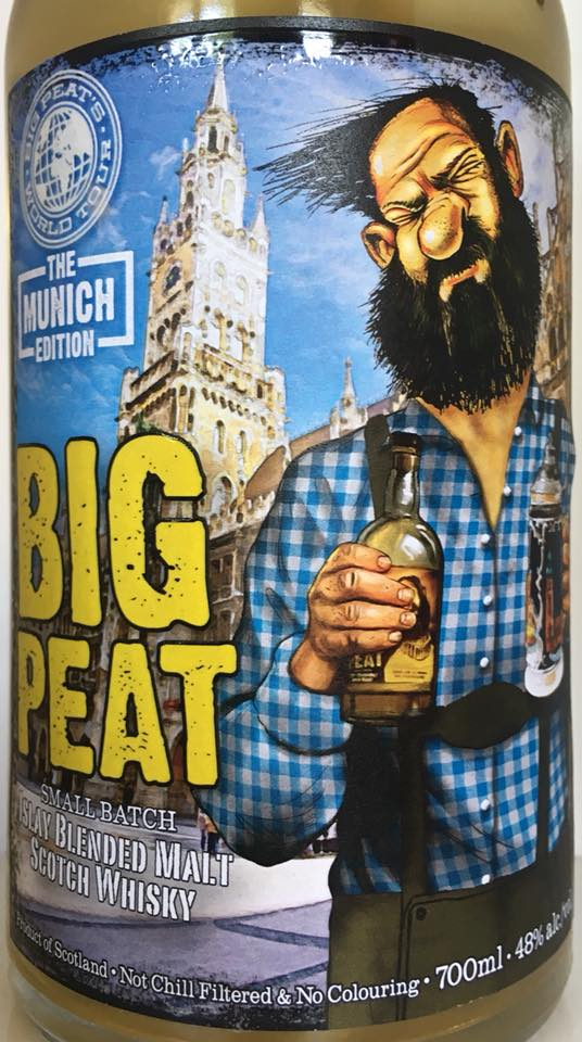 Big Peat Munich Edition vorne 2018