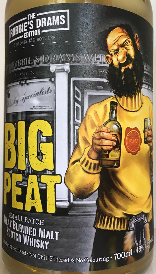 Big Peat Robbies Dram Edition 2018 vorne