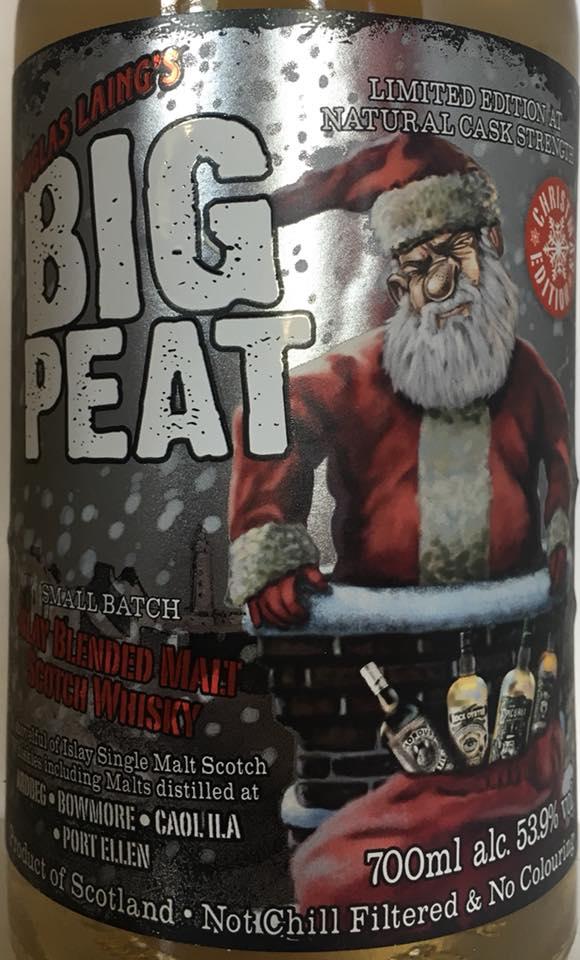 Big Peat Weihnachten 2018 vorne