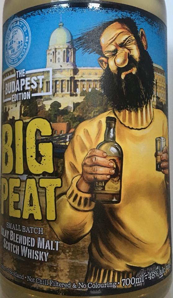 Big Peat Budapest Edition 2018 vorne