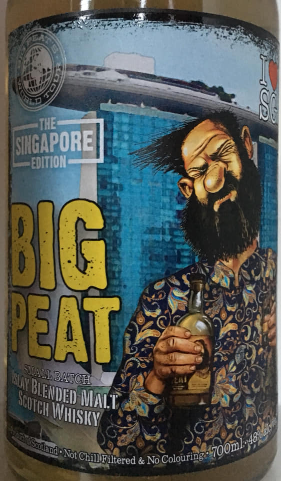 Big Peat Singapore Edition 2018 vorne