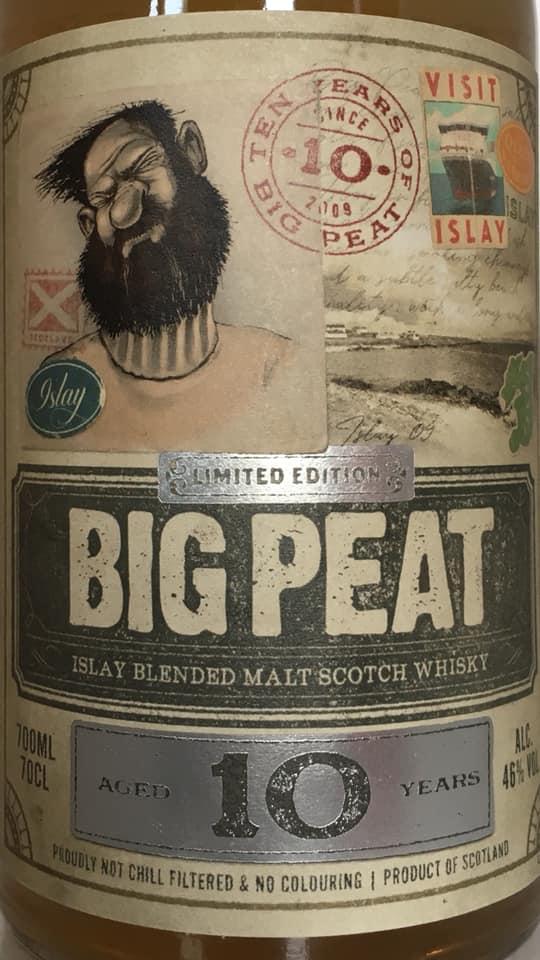 Big Peat 10 Jahre 2019 vorne
