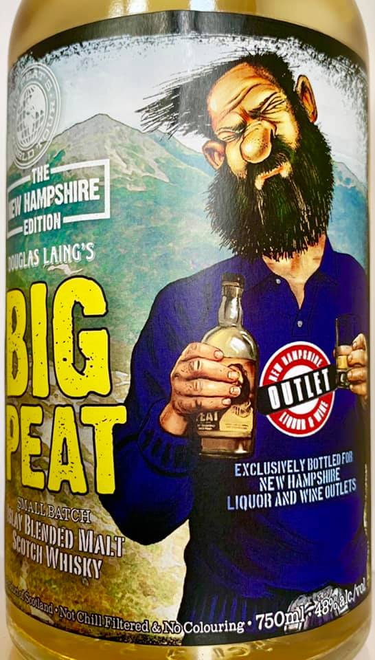 Big Peat New Hampshere Edition 2019 vorne