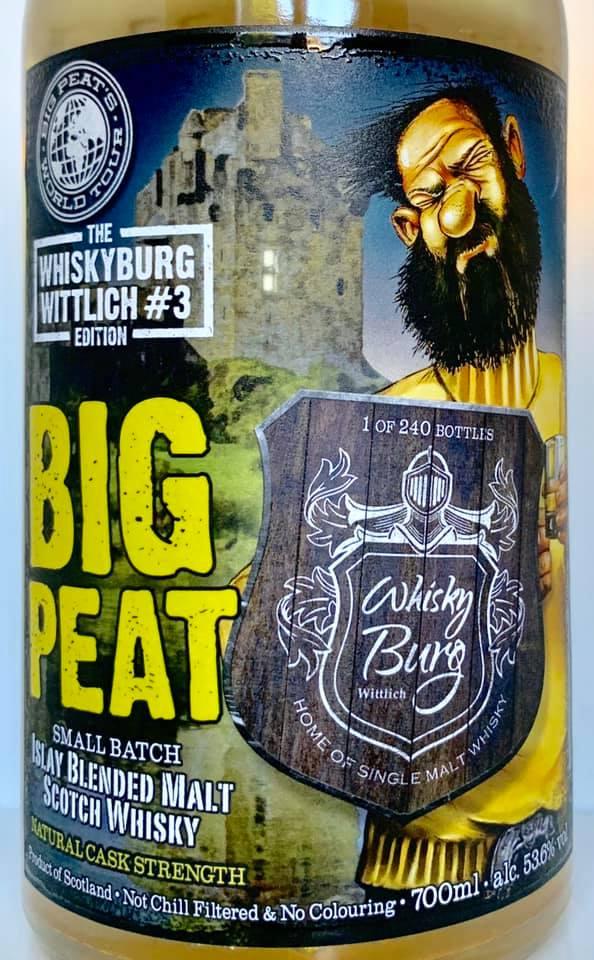 Big Peat Whiskyburg Wittlich Edition#3 2019 vorne