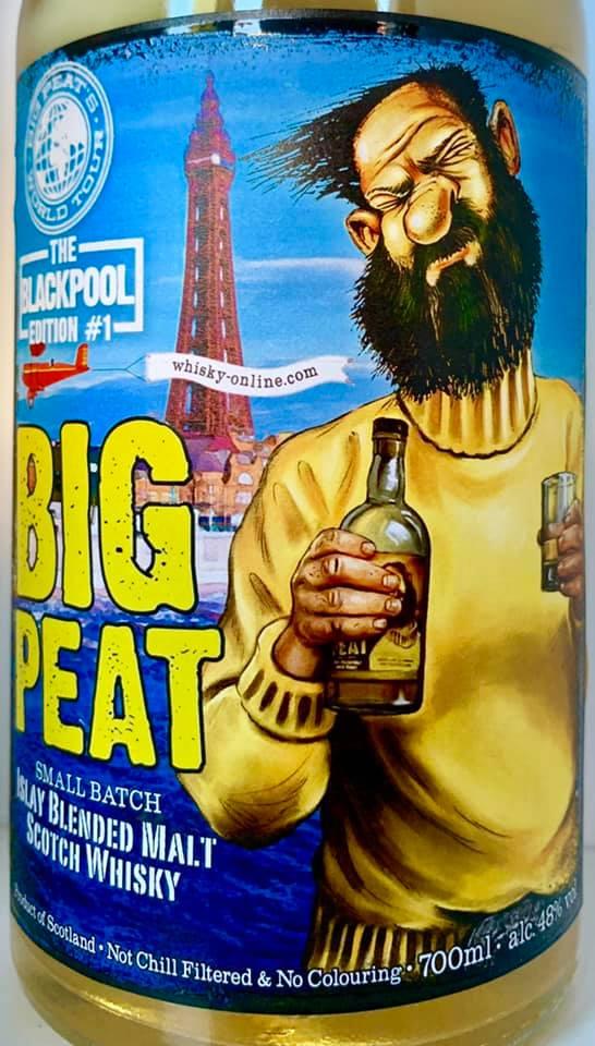 Big Peat Blackpool Edition #1 vorne