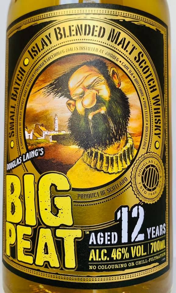 Big Peat 12 Years Edition vorne